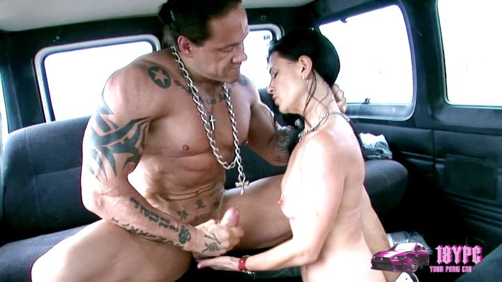 Slut can resist our love machine - porn in minibus 2011